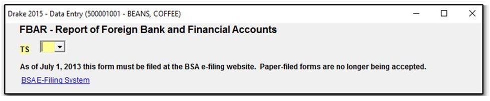 FinCEN Report 114 (FBAR) - Online Filing Only - Form No Longer ...