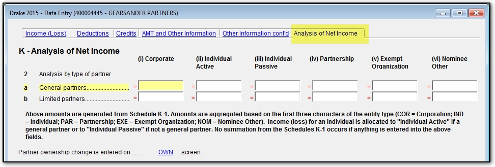 form 1065 analysis of net income  Schedule K 12 121220s: How To Complete Form 12065 With ...
