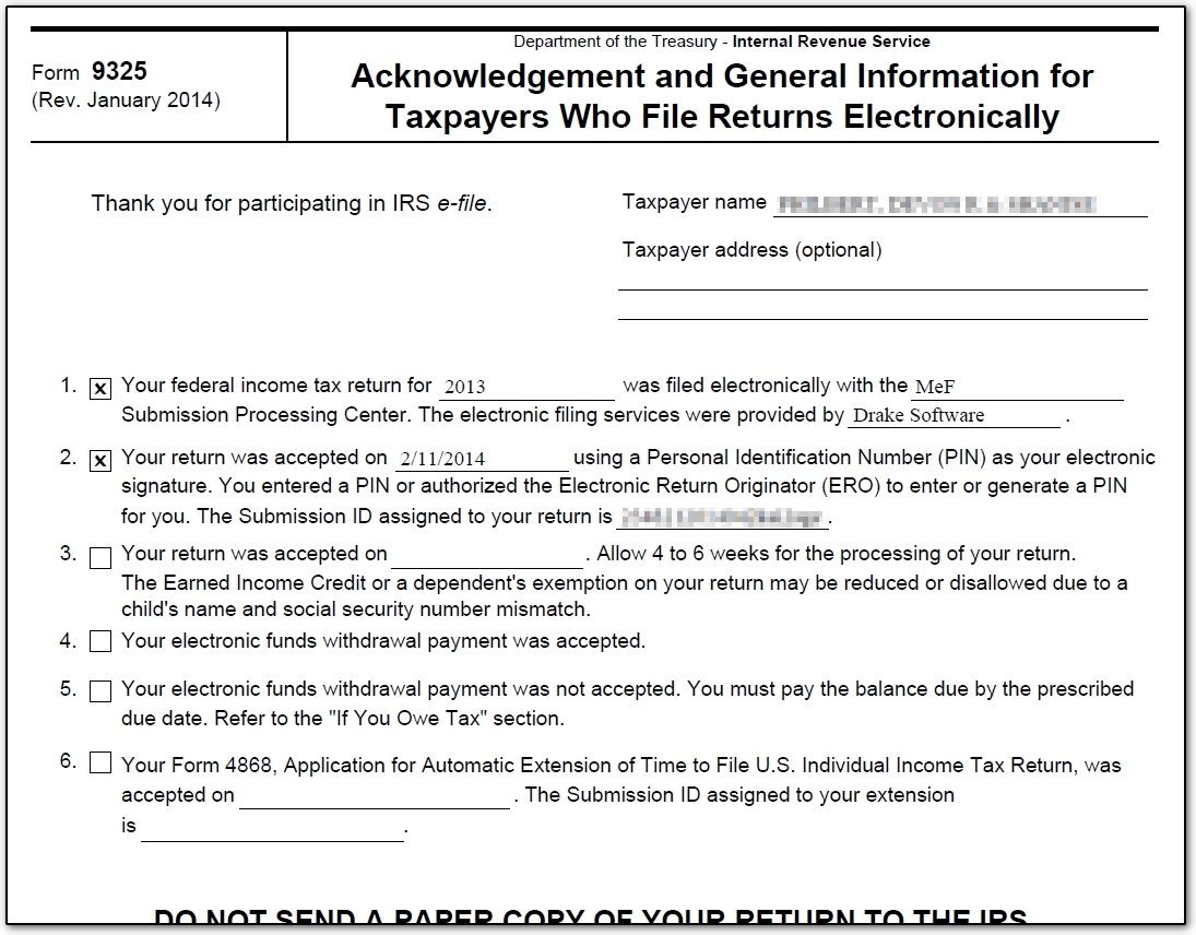 10847 form 9325 after irs acceptance notifying the taxpayer 2g when completed by drake and emailed to the taxpayer the information on the form looks like this drake does not complete blocks 3 6 falaconquin