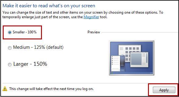 Как на сделать экран узким