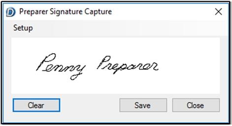 e-Signatures - Signature Pads in Drake (E-sign)