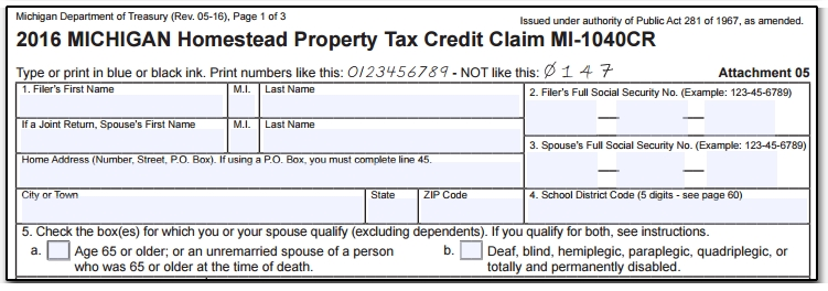13008 MI - Over Age 65, Blind or Deaf Special Exemption not Automatic.jpg