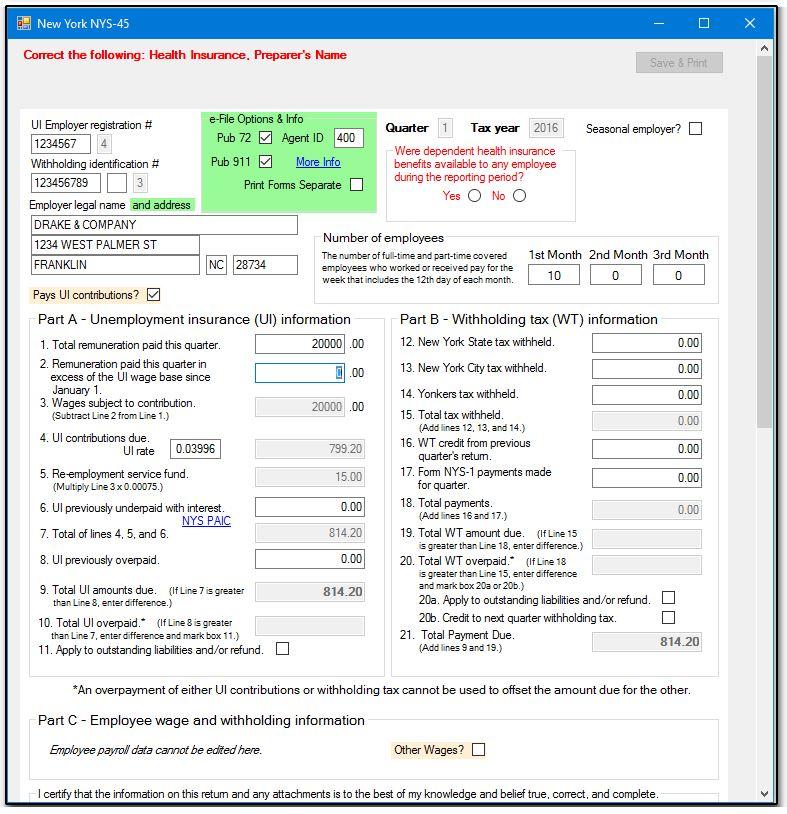 NY - Preparing the NYS-45 Upload File (CWU)