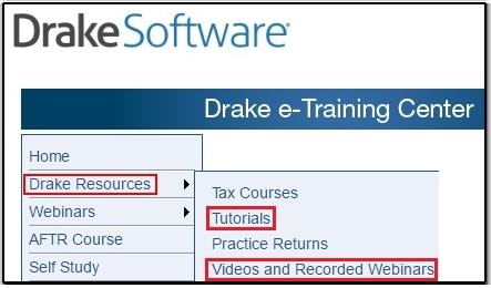 Cwu training on drake etc for Drake program