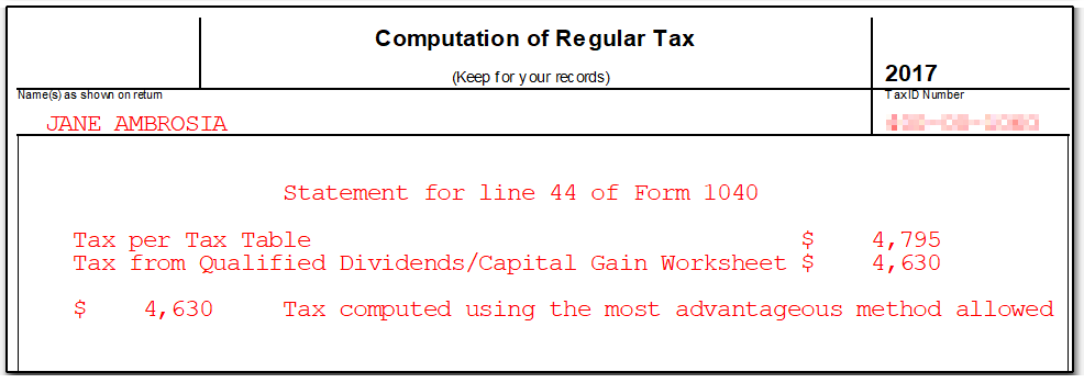 Drake17 Tax Computation Worksheet – Tax Computation Worksheet