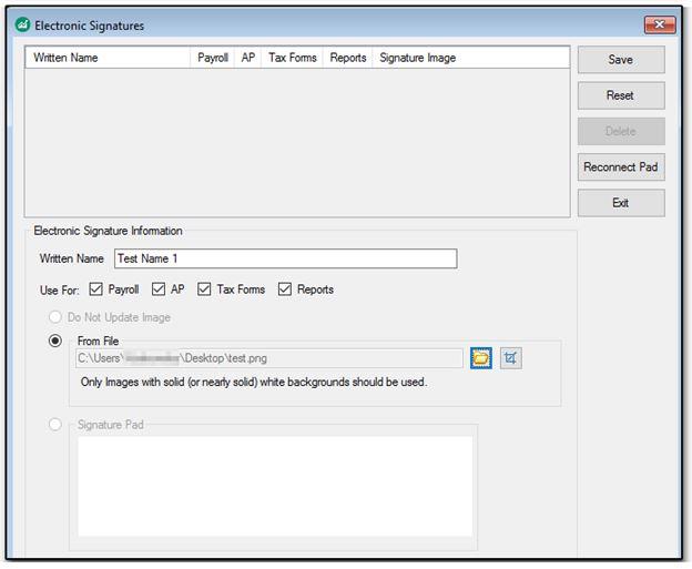 Setting Up Electronic Signatures (DAS) (E-sign)