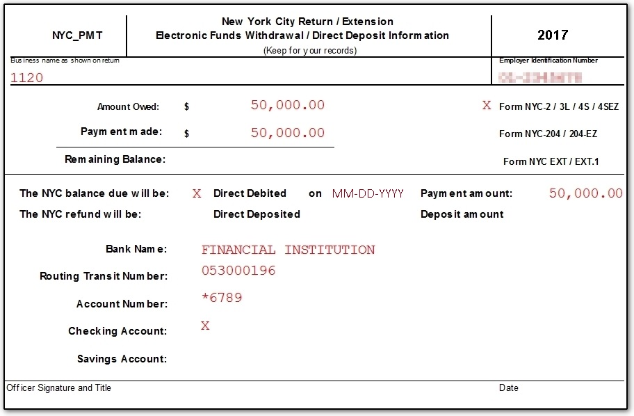 Ny State And City Payment Frequently Asked Questions