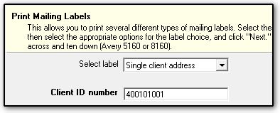 Best options for printing shipping