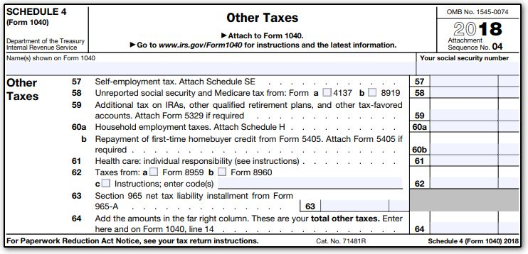 form 1040 schedule 4  11 - Schedule 11 (Drake11) (Schedule11, ScheduleSE)