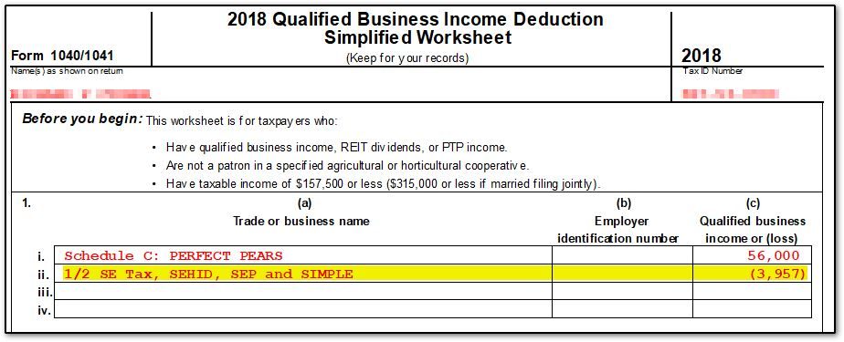 form 1040 qualified business income deduction  QBI Deduction - Frequently Asked Questions (QBI, ScheduleC ...
