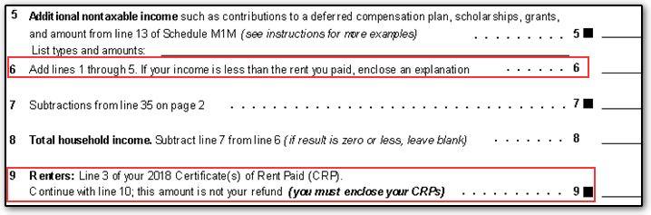 2008 property tax refund return (form m1pr) instructions.