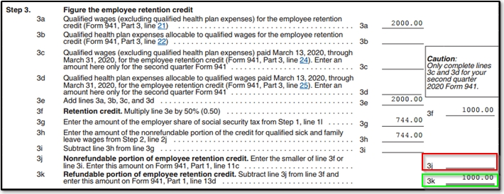 941 Worksheet 1 Credit For Qualified Sick And Family Leave Wages And The Employee Retention Credit Das